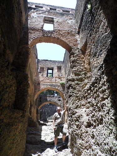 Inside Fort Jesus