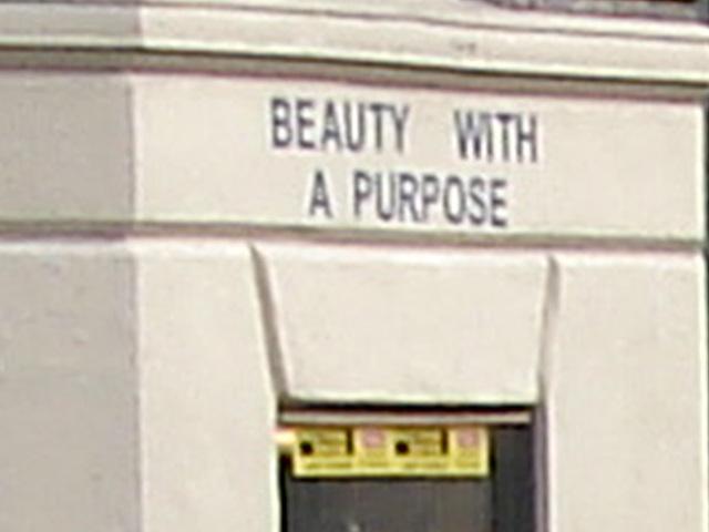 Beauty with a purpose /  Beauté avec un but - Copenhague / Copenhagen.  20-10-2008