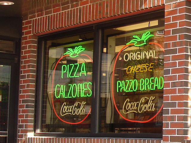 Pizza & Coca-cola  /  Portland, Maine  USA - 11 octobre 2009