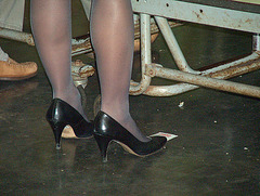 black caressa high heels