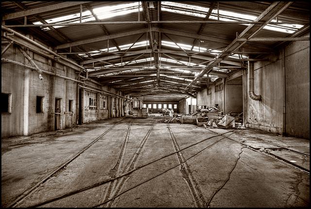 no trains anymore......
