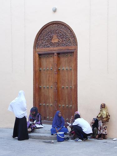 Zanzibari Doorway