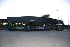 Pont SNCF route du Rhin Réfection 29/05/2009
