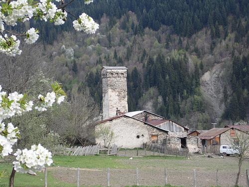 Farm with Tower, Svaneti