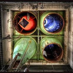 under the silos.......rgb