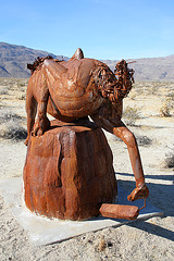 Galleta Meadows Estates Cat Sculpture (3656)
