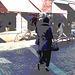 Expresso house Swedish duo - Flat boots and high heels /  Piétonnes suédoises - talons hauts et bottes à talons plats -   Ängelholm - 23-10-2008 - Postérisation