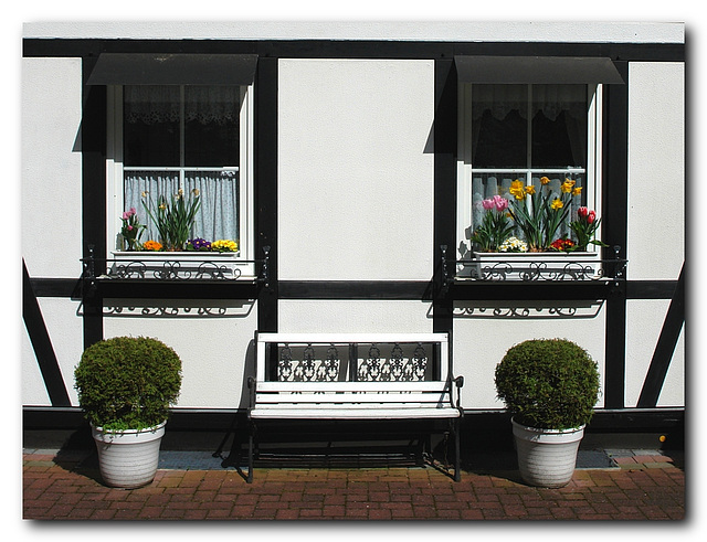 Fenster-Bank