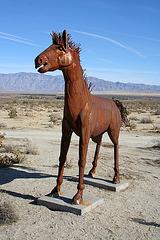 Galleta Meadows Estates Horse Sculpture (3641)