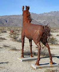 Galleta Meadows Estates Horse Sculpture (3642)