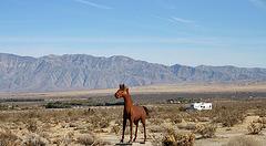 Galleta Meadows Estates Horse Sculpture (3653)