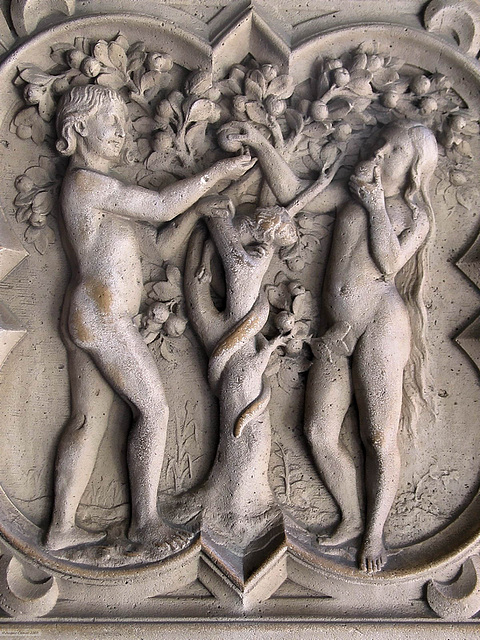 111 1107ac Adam and Eve Eating the Forbidden Fruit or The Original Fault