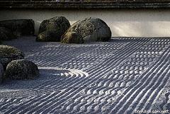 Le jardin sec, Karesansui, 枯山水