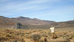 Photographing Striped Butte (4998)
