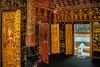 Wat Xieng Thong fine inside decoration