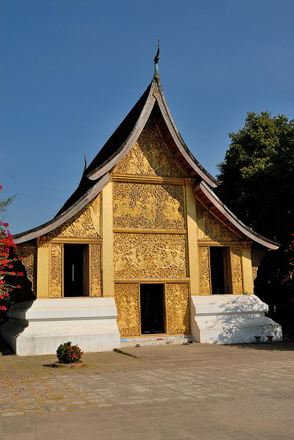 The Carriage House at Wat Xieng Thong