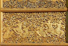 The battle of Pra Lak and Pra Lam