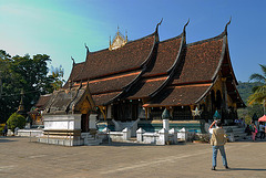 The sim of Wat Xieng Thong