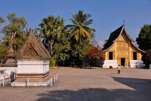 Wat Xieng Thong and the Funerary Pavilion