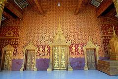 Door entrance to the Wat Saen sim