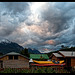 evening sky in Futaleufú
