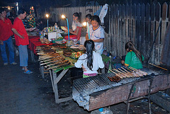 Roasted freshwater fish out out of the Mekong