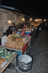 The food line at the night market