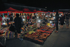 Next booth at the night market