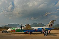 Flight back to Bangkok by Bangkok Airways