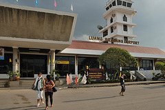 Airport of Luang Prabang
