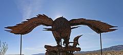Galleta Meadows Estates Bird Sculpture (1)