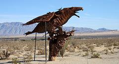 Galleta Meadows Estates Bird Sculpture (3604)