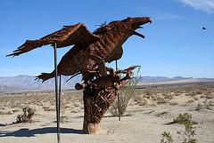 Galleta Meadows Estates Bird Sculpture (3605)