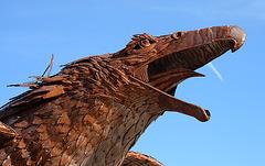 Galleta Meadows Estates Bird Sculpture (3606)