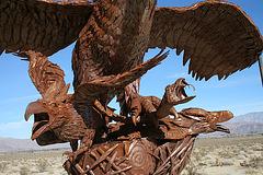 Galleta Meadows Estates Bird Sculpture (3607)