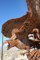 Galleta Meadows Estates Bird Sculpture (3608)