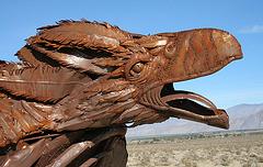 Galleta Meadows Estates Bird Sculpture (3609)