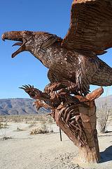 Galleta Meadows Estates Bird Sculpture (3610)