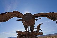 Galleta Meadows Estates Bird Sculpture (3613)