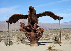 Galleta Meadows Estates Bird Sculpture (3616)