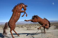Galleta Meadows Estates Horse Sculpture (3619)