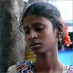 naître femme ...à  Puducherry : l'Inde