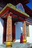 Novice at the Zangdopelri Temple