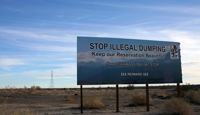 Keep Our Reservation Beautiful (3828)