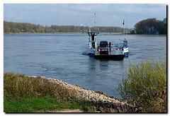 Zons, Rheinfaehre