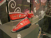 Red and cute - Bata Shoe Museum. Toronto, Canada- July 2007