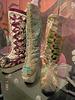 Platform winter Boots trio - Bata shoe Museum- Toronto, Canada - 3 juillet 2007