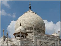 Taj Mahal, Kuppel
