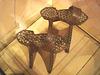Metal ruling class platform ancestors - Bata Shoe Museum. Toronto, Canada - 3 juillet 2007