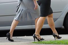 heels walking 2